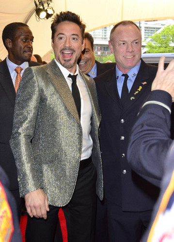 Robert Downey Jr. Leaving The Trump Soho Hotel - robert-downey-jr Photo