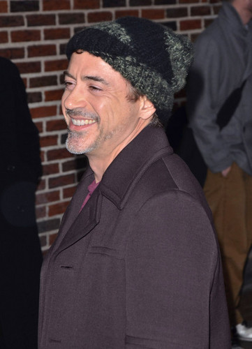 Robert Downey Jr. Visits 'Letterman'