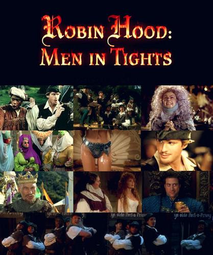 Robin capuz, capa Men in Tights