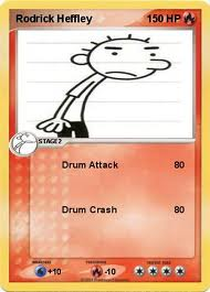 Rodrick pokemon card