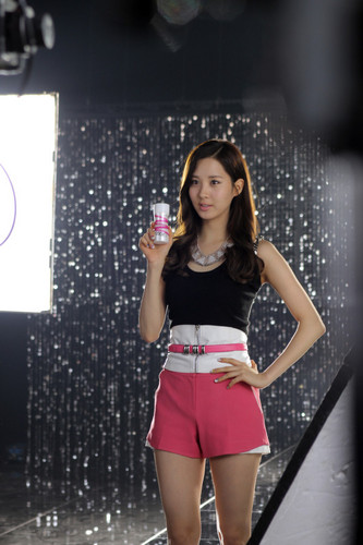SNSD @ Yakult Korea Recording Pictures