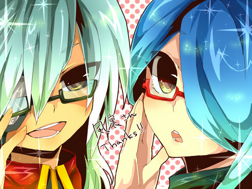 Sakuma and Kazemaru with glasses - sakuma-x-kazemaru Photo