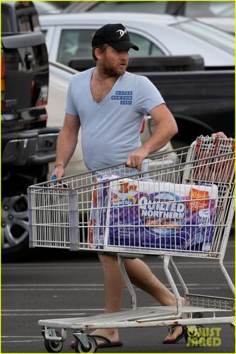 Sam Worthington: Costco with Crystal Humphries