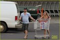 Sam Worthington: Costco with Crystal Humphries - sam-worthington photo