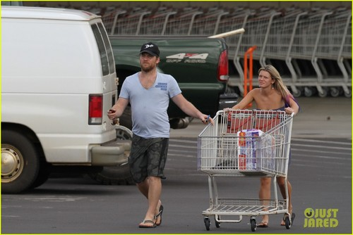 Sam Worthington: Costco with Crystal Humphries