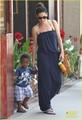 Sandra Bullock: Antiquing with Louis! - sandra-bullock photo