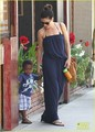 Sandra Bullock: Antiquing with Louis! - sandra-bullock photo