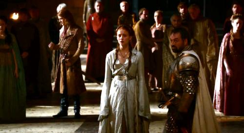 Sansa and Meryn Trant