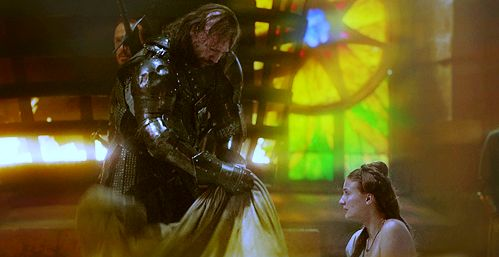 Sansa and Sandor