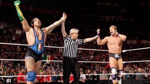 Santino and Zack vs Epico and Primo