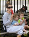 Sarah Jessica Parker: Popsicles & Park with the Twins! - sarah-jessica-parker photo