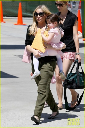 Sarah Michelle Gellar & Charlotte: Ballet Day! - sarah-michelle-gellar Photo