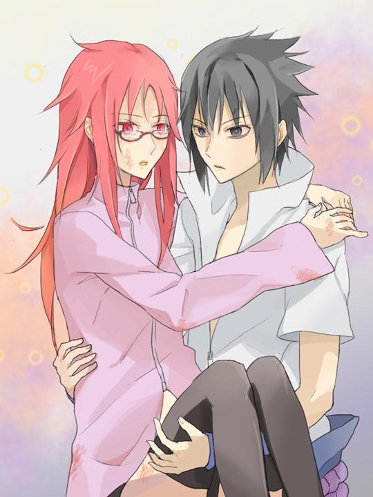 Anime Couples Images Sasuke X Karin Hd Wallpaper And