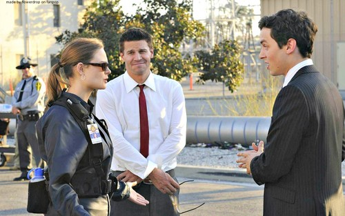 Seeley Booth kertas dinding with a business suit called Seeley Booth kertas dinding