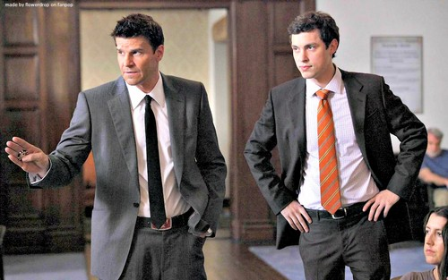 Seeley Booth দেওয়ালপত্র with a business suit, a suit, and a two piece entitled Seeley Booth দেওয়ালপত্র