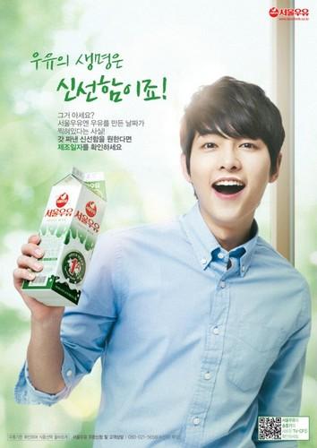 Seoul leite Ad