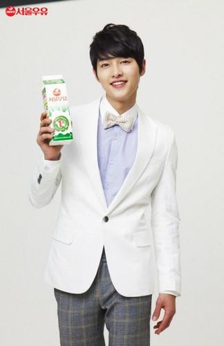 Seoul 牛奶 Ad