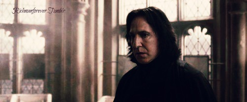 Severus Snape my Half Blood Prince.