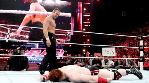 Sheamus vs Mark Henry... YES!YES!YES!