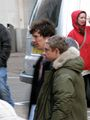 Sherlock filming in Cardiff Bay, July 2011. - johnlock photo