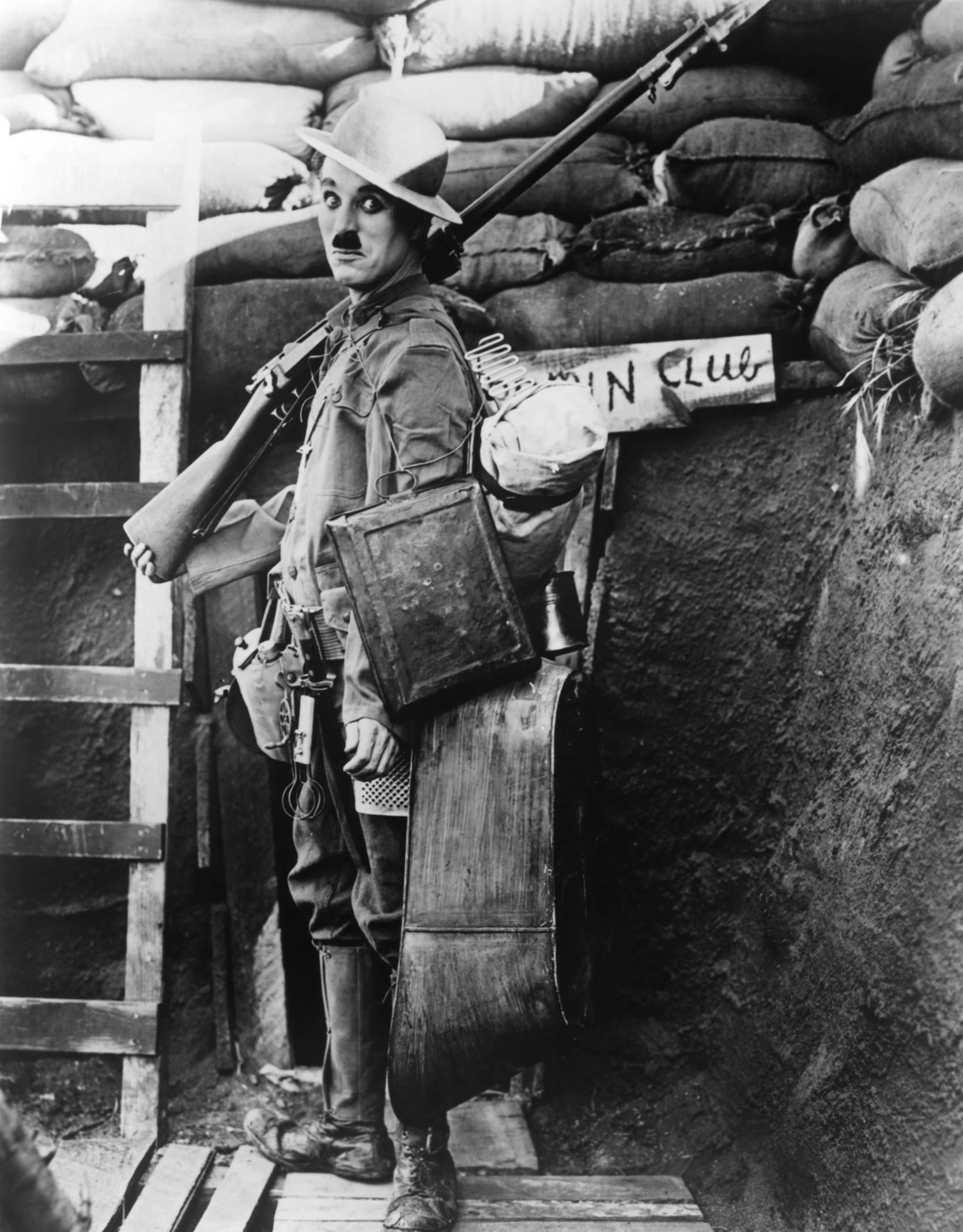 Shoulder Arms - Chaplin
