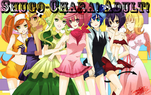 Shugo Chara (Adult) Girls