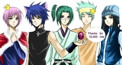 Shugo Chara (Adult) Guys