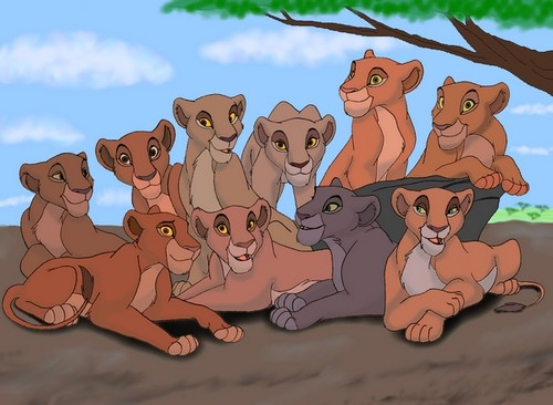 the lion king wallpaper containing anime titled Simba's pride