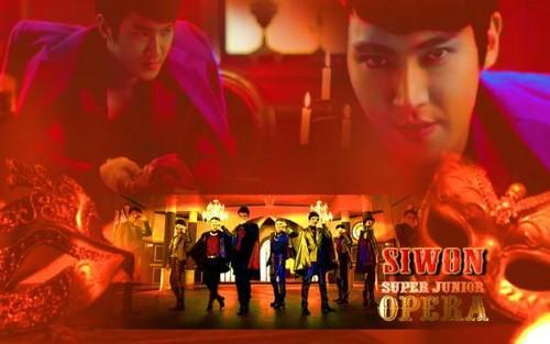 Siwon Opera wallpaper Spam