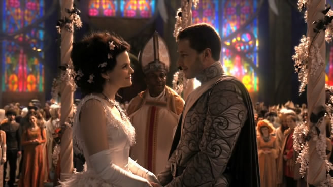 A disney princess vs the real world january 2013 for Snow white wedding dress once upon a time