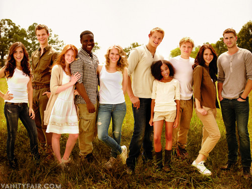 The Hunger Games wallpaper titled Some of the cast members