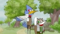 Star Fox x Regular Show - regular-show fan art