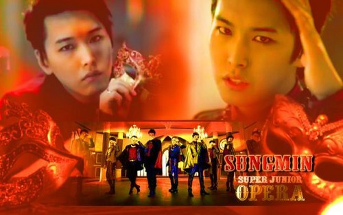 Sungmin Opera wallpaper Spam
