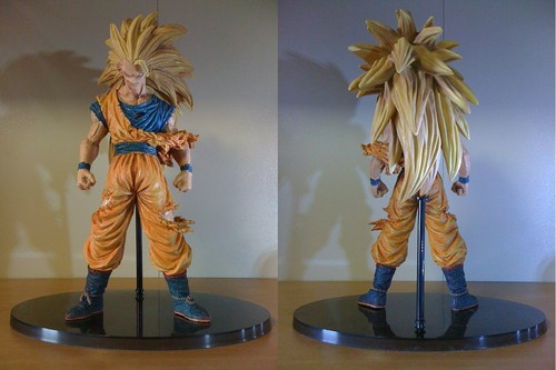 Super saiyan3 son gokou collectable figurine