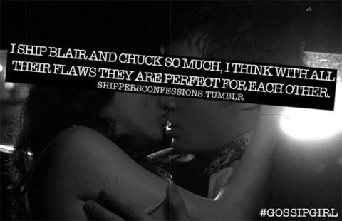 TRUE  - blair-and-chuck Fan Art