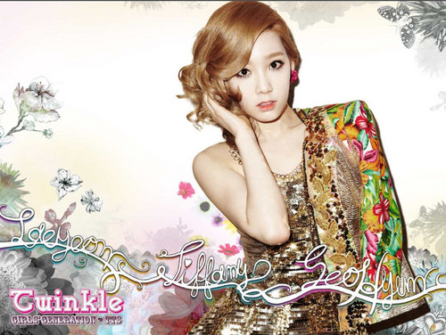 "Girls Generation/SNSD wallpaper entitled TaeTiSeo ""Twinkle"" Digital Booklet"