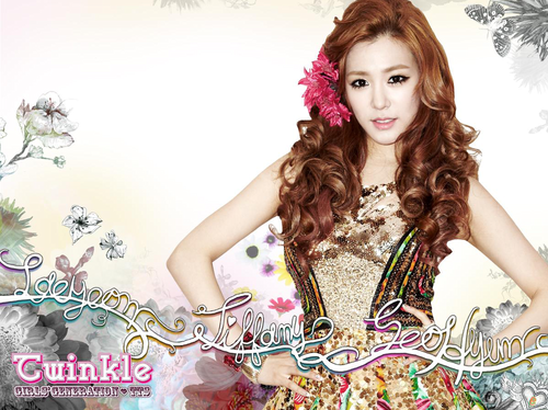 "TaeTiSeo wallpaper possibly with a sundress and a cocktail dress titled TaeTiSeo ""Twinkle"" Digital Booklet"