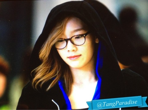 Kim Taeyeon wallpaper possibly containing a portrait entitled Taeyeon @ Incheon Airport