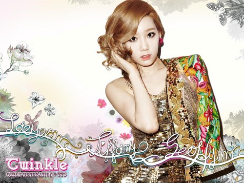 S♥NEISM kertas dinding possibly with a portrait called Taeyeon Tiffany Seohyun @ Twinkle Mini Album Digital Booklet
