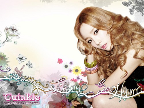 S♥NEISM wallpaper with a portrait entitled Taeyeon Tiffany Seohyun @ Twinkle Mini Album Digital Booklet