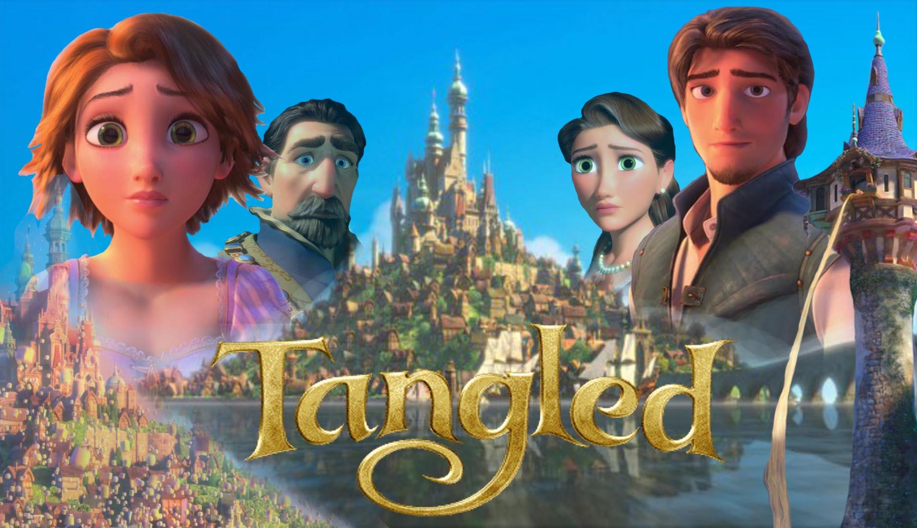 Tangled Wallpaper 2 - Rapunzel Fitzherbert Art (12Rapunzel ...