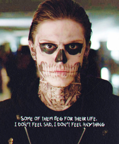 American Horror Story wallpaper called Tate Langdon