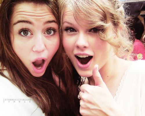Taylor and Miley