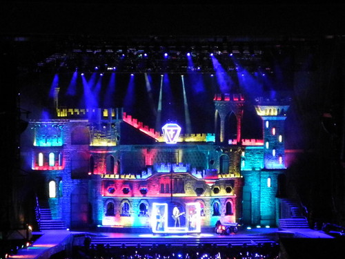 The BTWBall stage