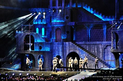The Born This Way Ball Tour in Seoul, South Korea - lady-gaga Photo