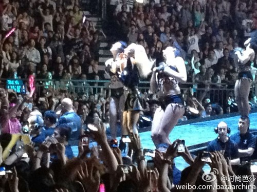 The Born This Way Ball in Hong Kong (May 2) - lady-gaga Photo