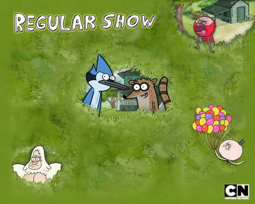 The Gang - regular-show Wallpaper