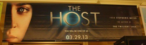 The Host wallpaper probably with a sign titled The Host