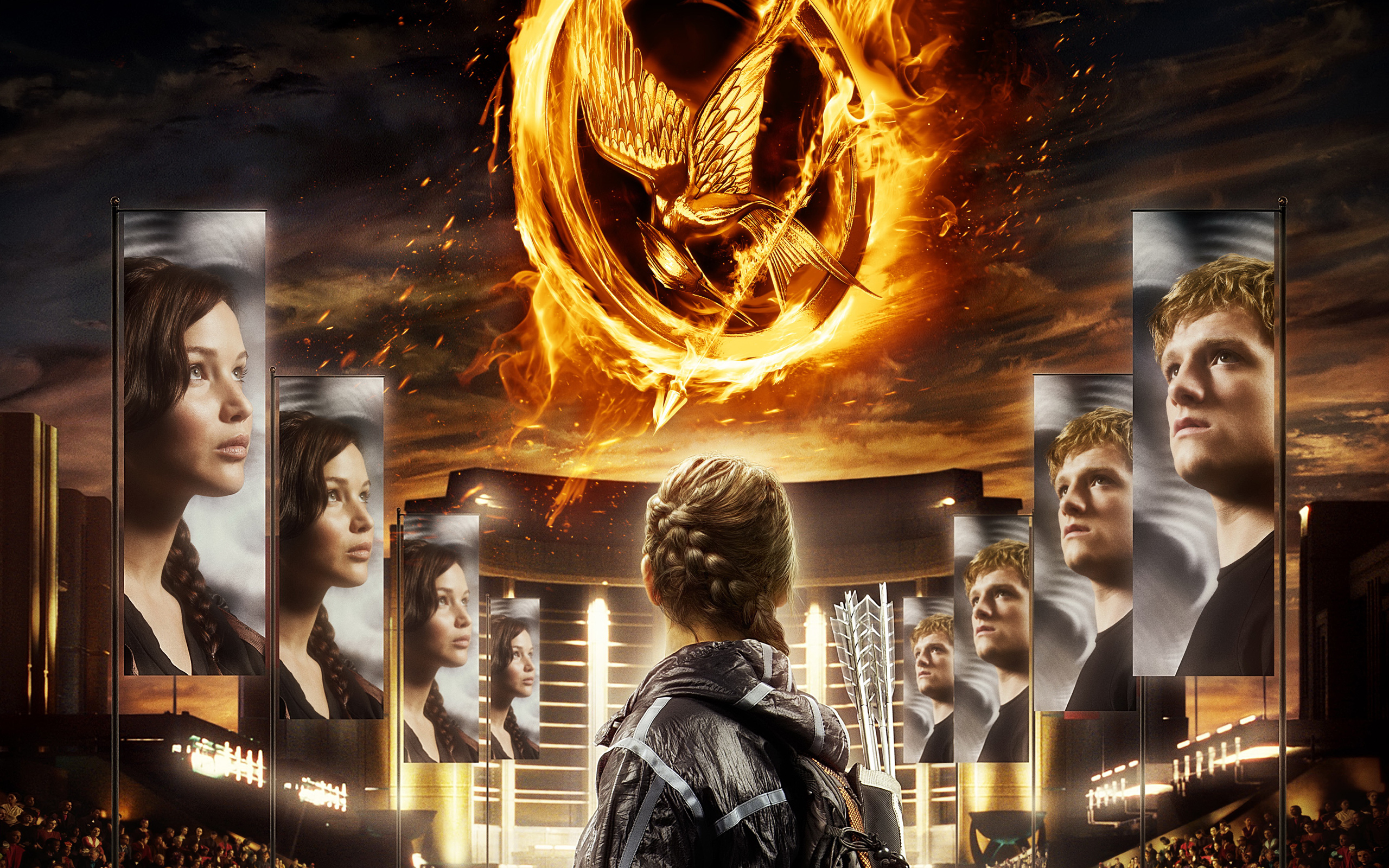 The Hunger Games - The Hunger Games Wallpaper (30621804 ...