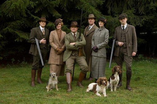 The Hunting Party - downton-abbey Photo